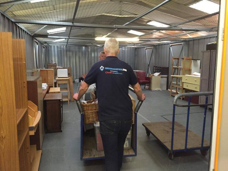 Image 11 - Storage work