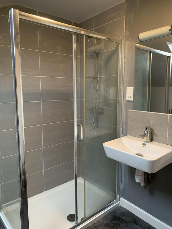 Image 1 - New shower walls & wall tiling
