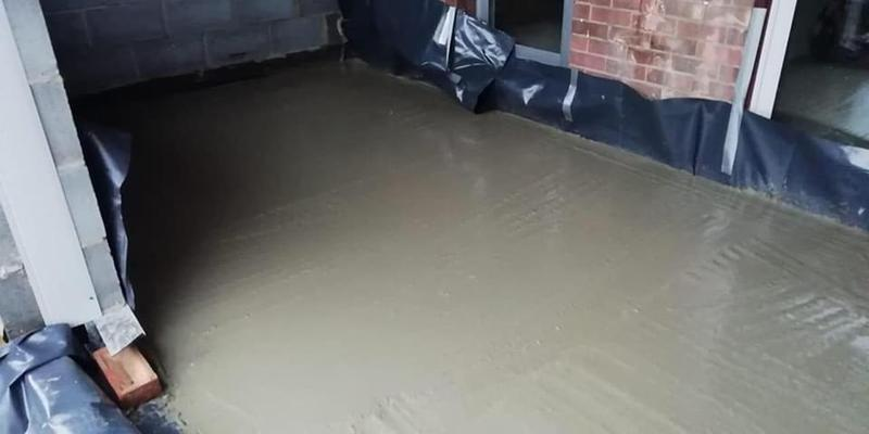 Image 160 - Concrete floor Job E