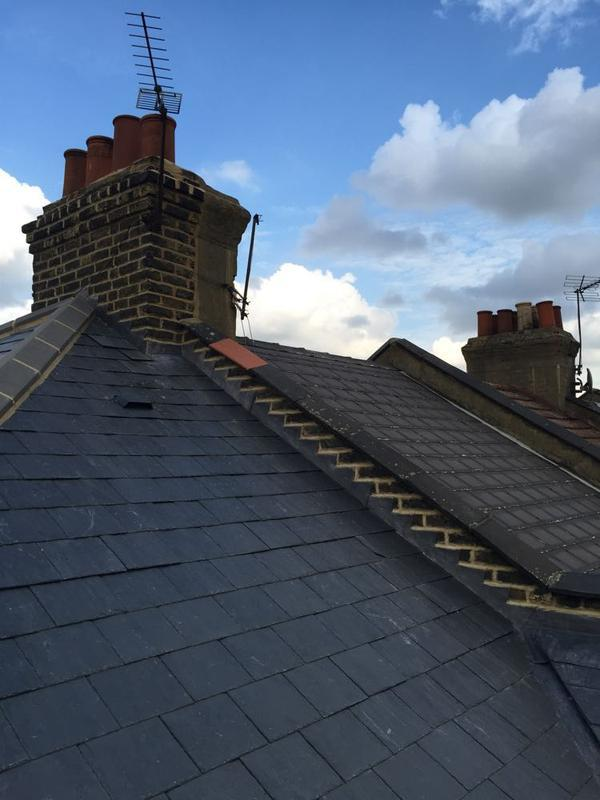 Image 19 - Re-Roof Natural Spanish Slates - Canning Town, East London