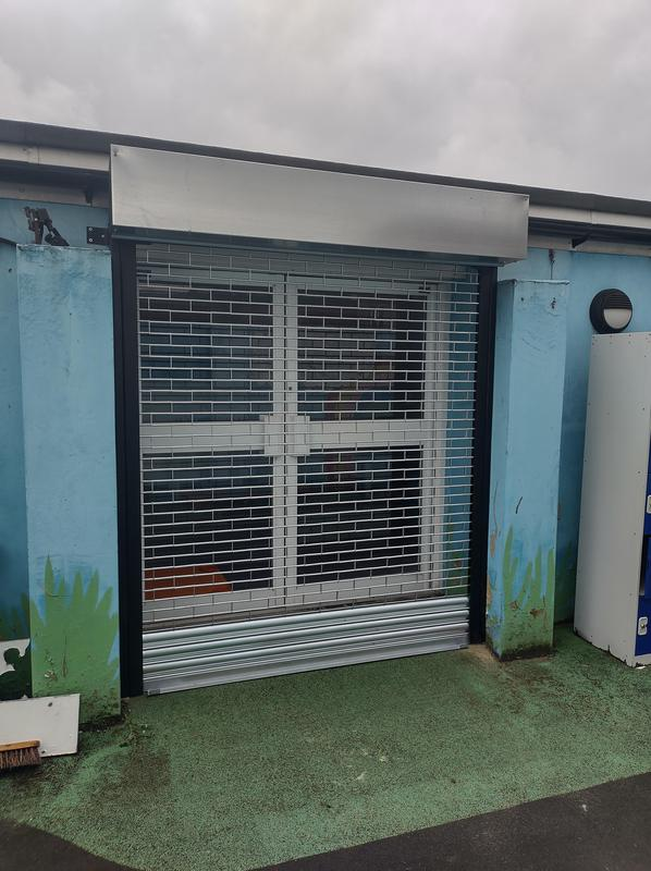 Image 1 - New installation of Tube and link Roller Shutters fitted in Beckenham