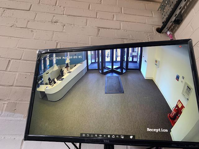 Image 8 - CCTV front desk monitoring for Corporate Security