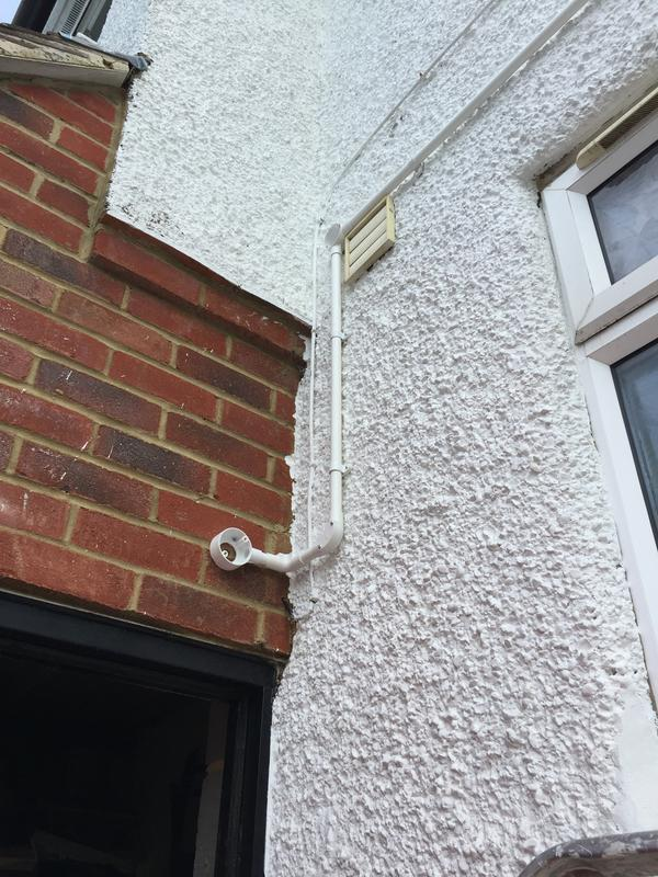 Image 27 - Installing new pipe work for cctv