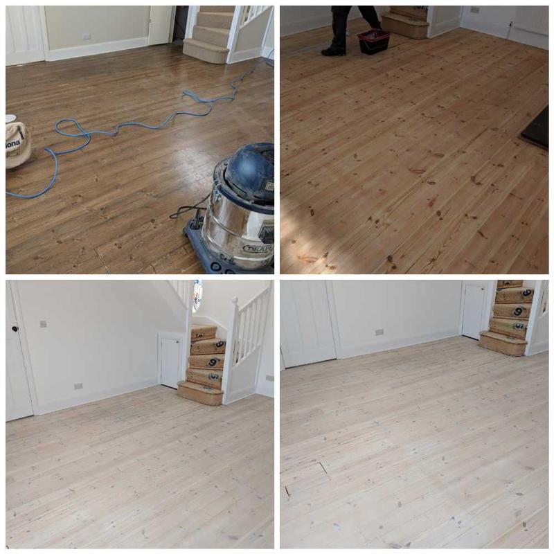 Image 40 - Pine floor sanding