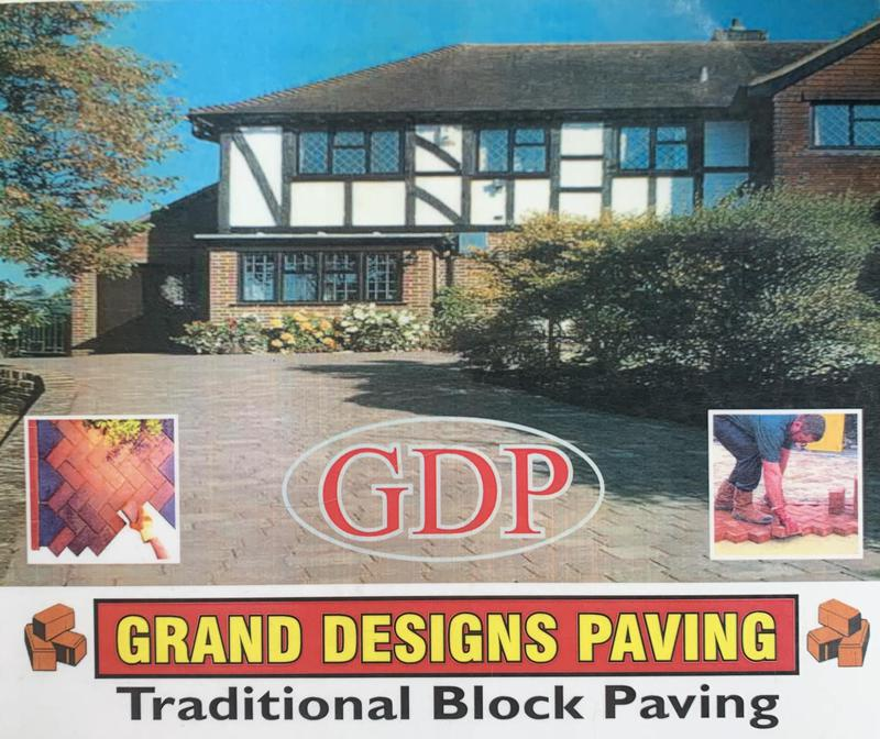 Grand Designs Paving logo