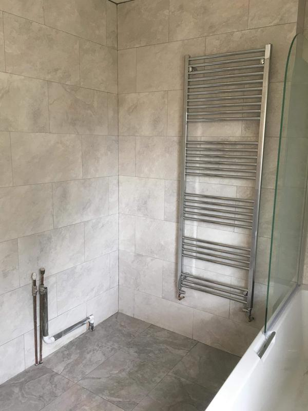 Image 24 - New towel rail with minimal pipework