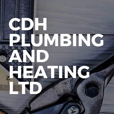 CDH Plumbing and Heating Ltd logo