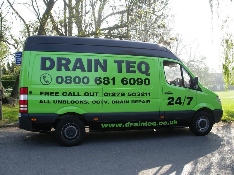 Drain Teq logo
