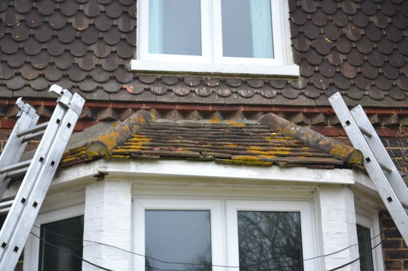 Image 13 - Re- building of bay window, new rafters fascia, soffit, gutter and tiles