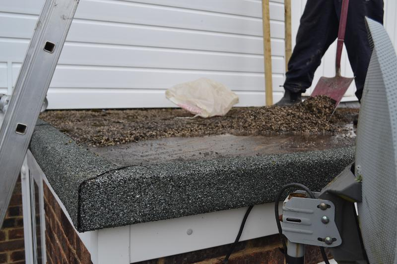 Image 15 - Old flat roof