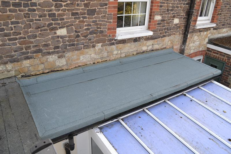 Image 3 - Green mineral finish 3-layer  high performance flat roof