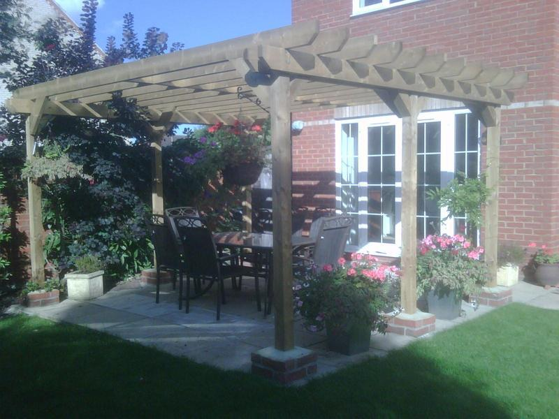 Image 9 - Pergola from scratch