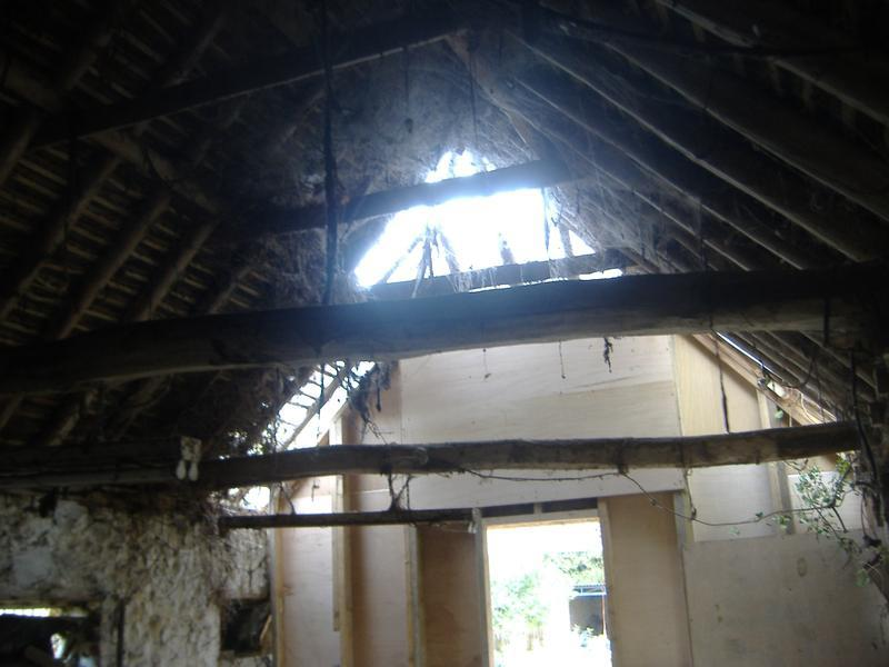 Image 9 - Bolton Barn interior - prior to works