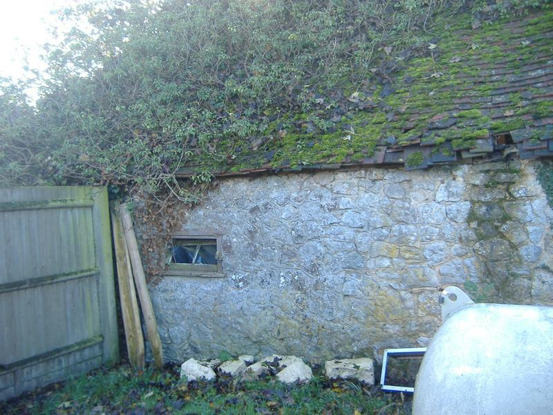 Image 8 - Exterior of Bolton Barn - Prior to restoration and conversion works