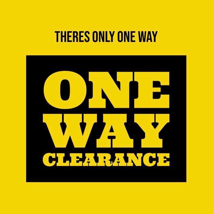 One Way Clearance logo