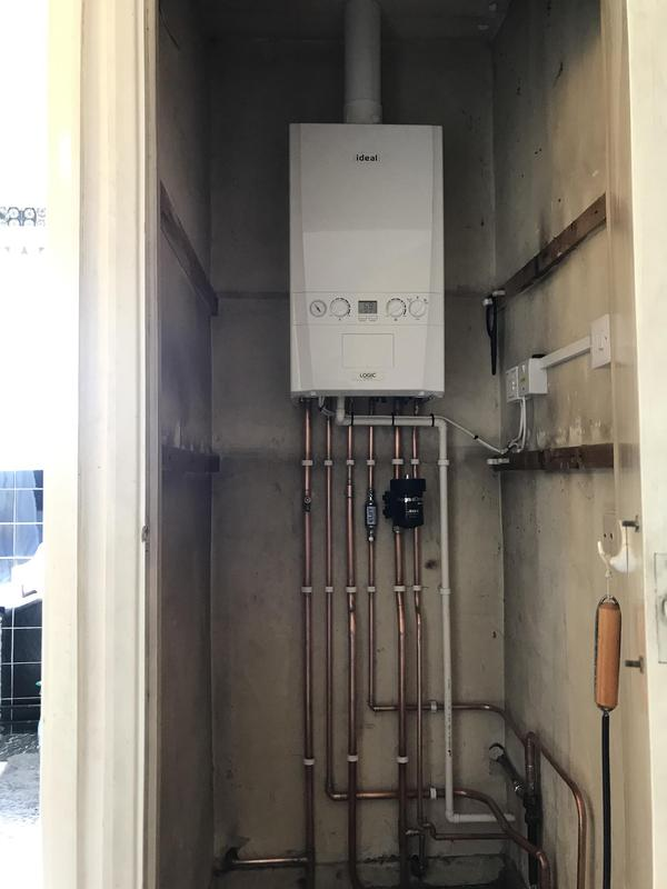 Image 4 - New Ideal Boiler install