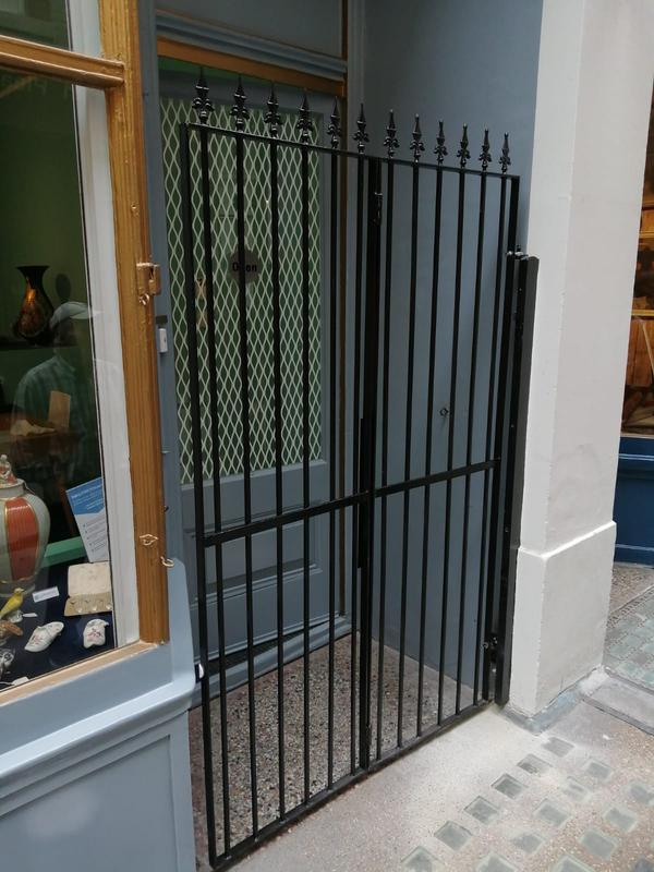 Image 8 - Serhat AhmatAntiques10 Cecil CourtCovent Garden, London WC2N 4HEBi Fold Gates      Fabricated to clients design.
