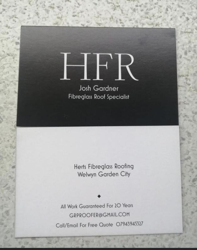 Herts Fibreglass Roofing logo