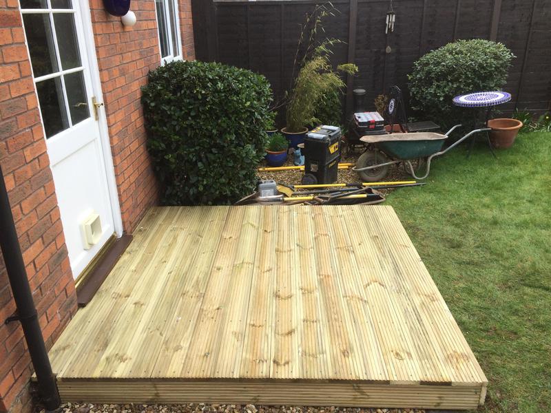 Image 14 - Small deck patio area leamington spa 2019
