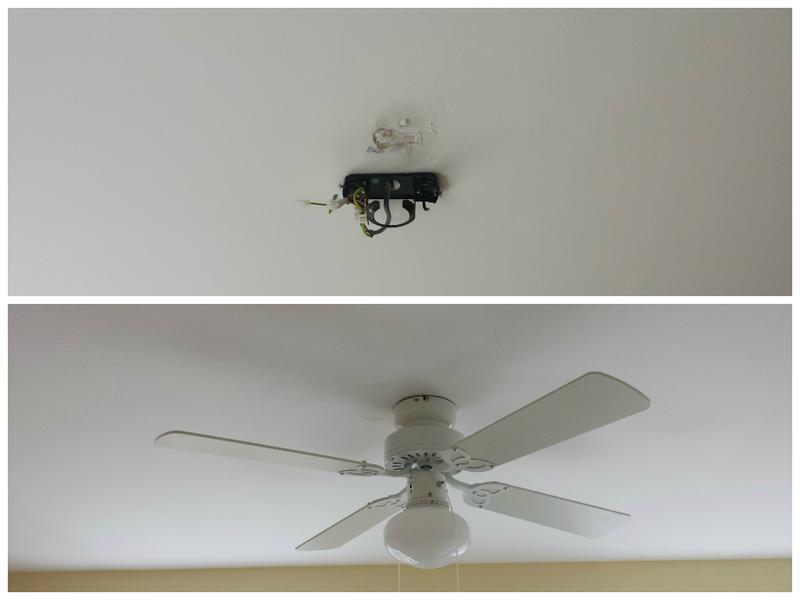 Image 92 - Fan installed.