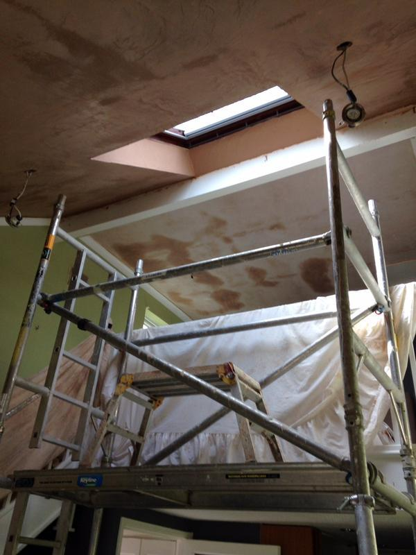 Image 43 - Ceiling plastering, Chelmsford, Essex, by DKM Developments Ltd, builders, Great Dunmow, Essex.