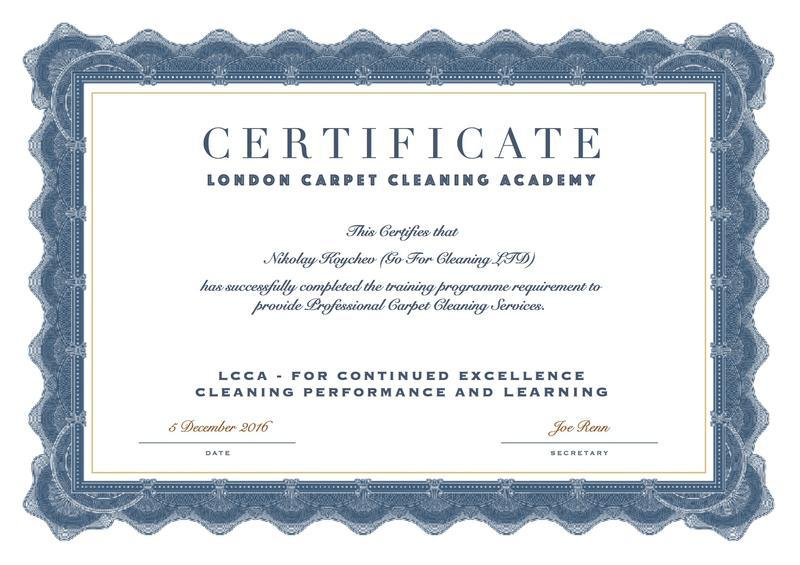 Image 28 - Certified Carpet Cleaners at Go For Cleaning LTD