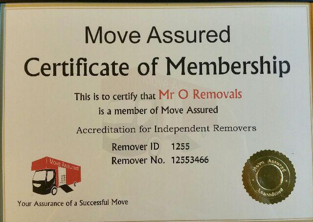 Image 18 - We are members of Move Assured.