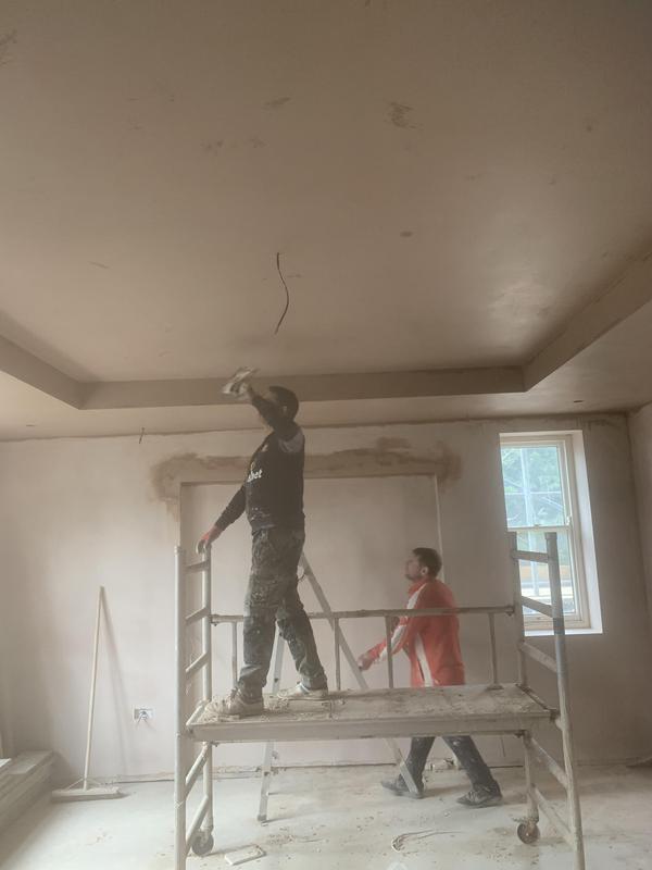 Image 23 - Ceiling Receiving skim coat.