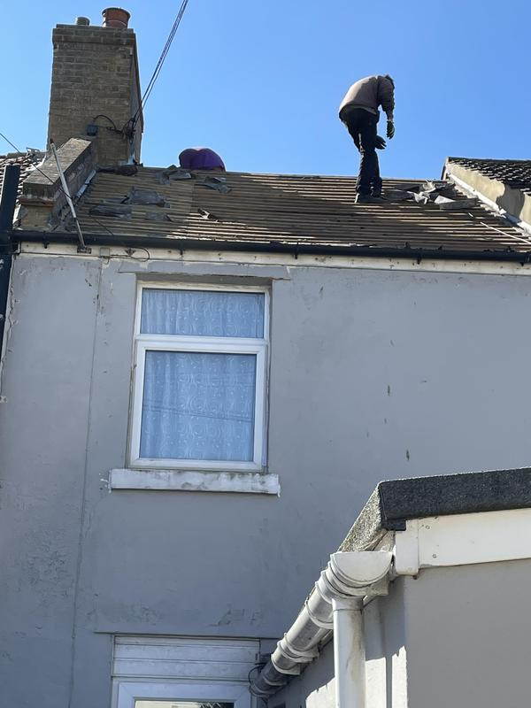 Image 18 - Slate roof replaced, with new tiled roof