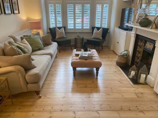 Image 2 - Pine floor restored