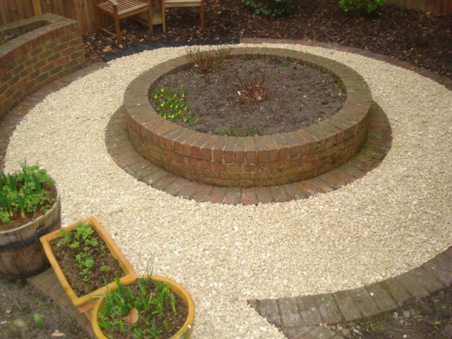 Image 92 - Gravel circle path