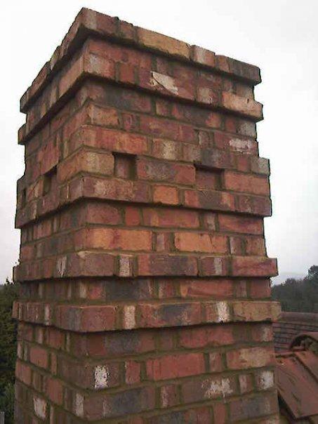 Image 1 - new build Kennington detailed chimney stack