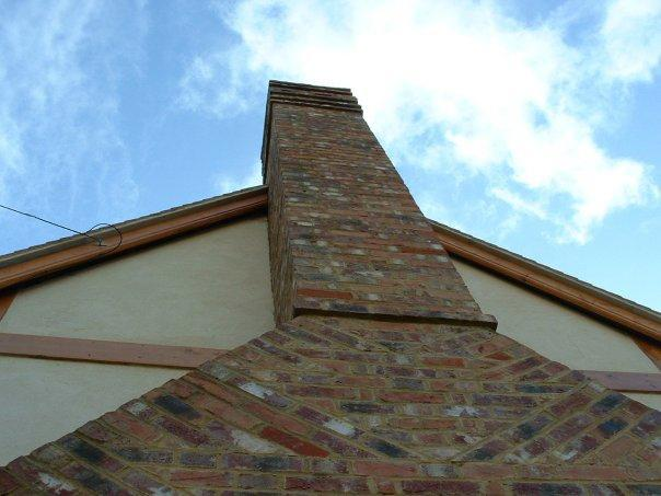 Image 3 - new build Kennington detailed chimney stack