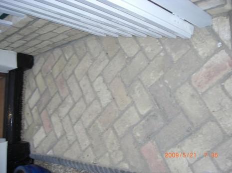 Image 72 - New brick pathway