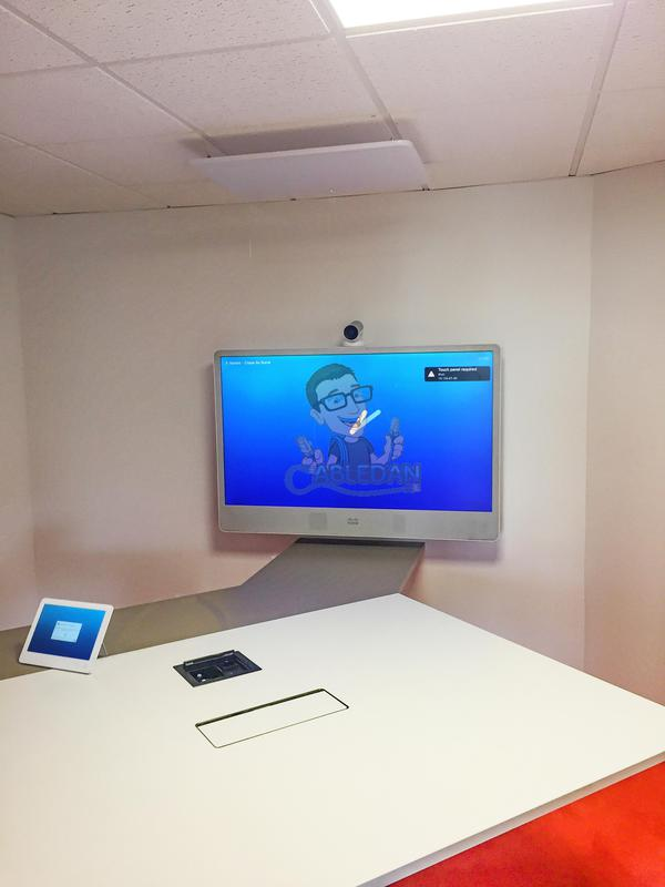 Image 40 - Cisco Meeting room system installed in office in Nantes France