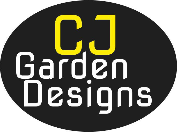 CJ Garden Designs logo