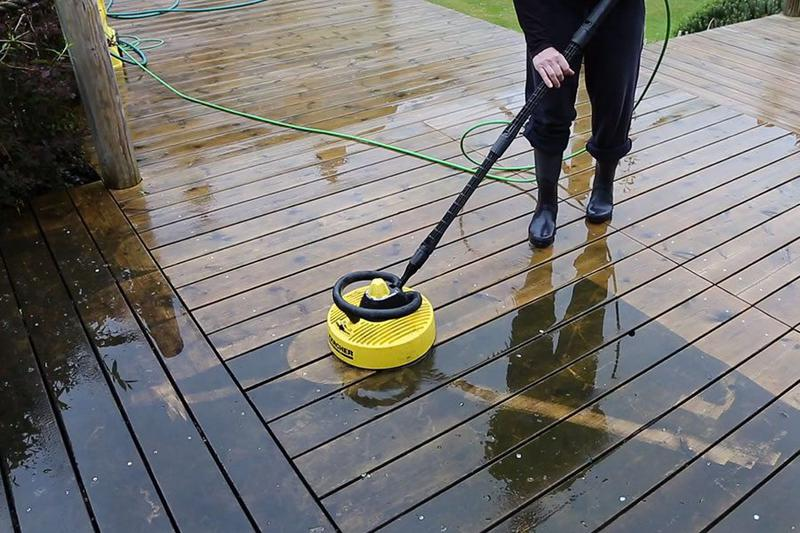 Image 194 - Decking surface cleaning