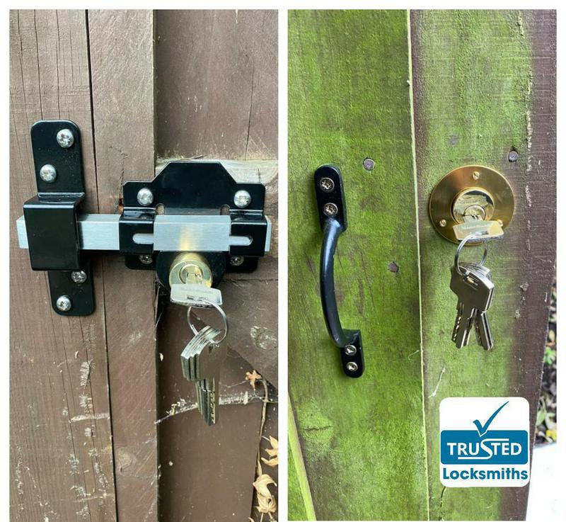 Image 12 - Gate Lock Installed from New