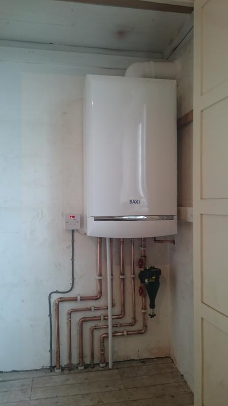 Image 7 - Installed, a Baxi Platinum with a 10 year warranty.