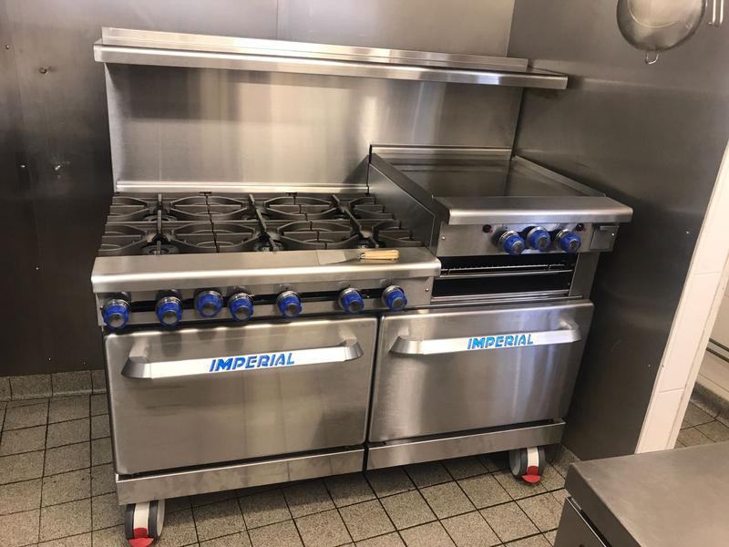 Image 1 - Installation & commission of a new commercial cooker in a country pub