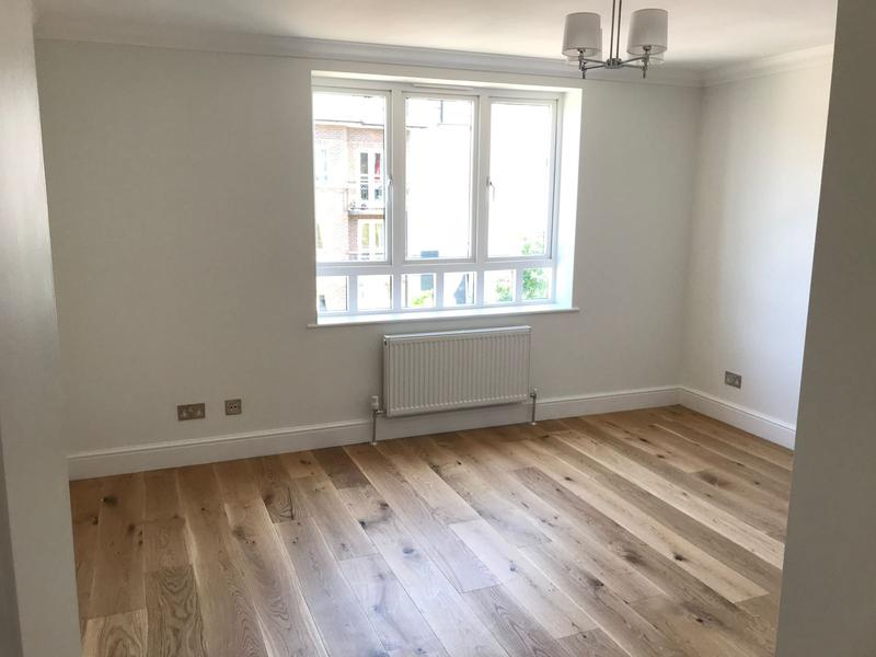 Image 4 - New engineered floor,skirting,heating,electrics and decorated for client