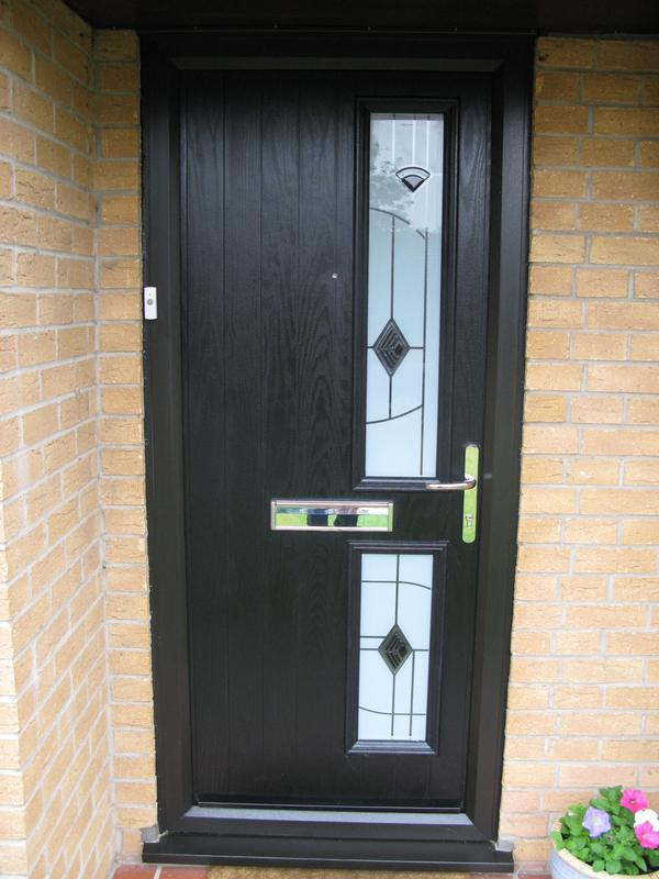 Image 31 - Black grp composite door in Loughborough