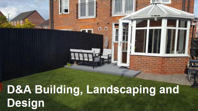 D&A Building & Landscaping Services logo