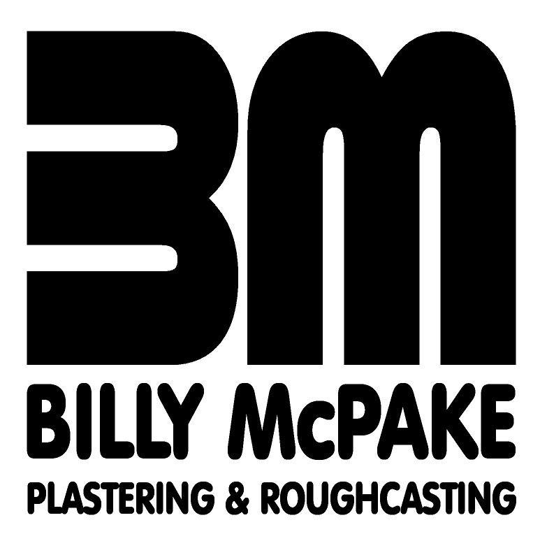Billy McPake Plastering and Roughcasting logo