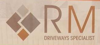 RM Driveways logo