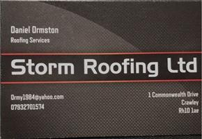 Storm Roofing logo