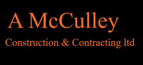 A McCulley Construction & Contracting Ltd logo