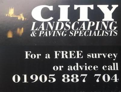 City Landscaping logo