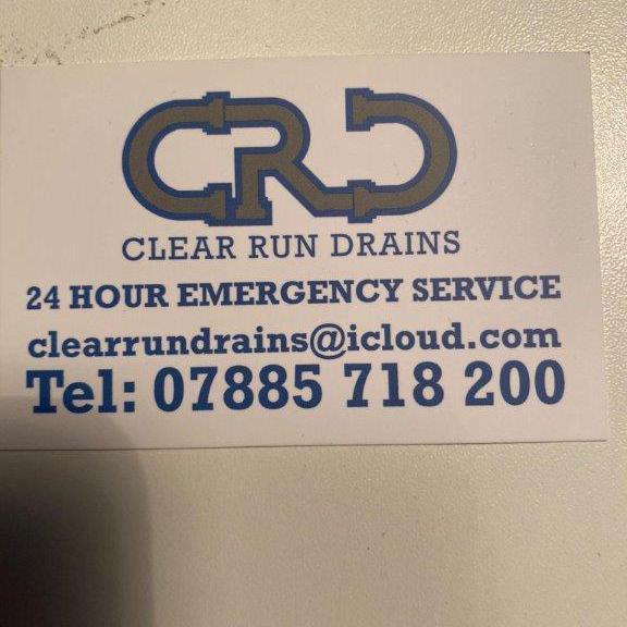 Clear Run Drains logo