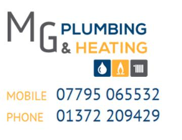 MG Plumbing & Heating logo